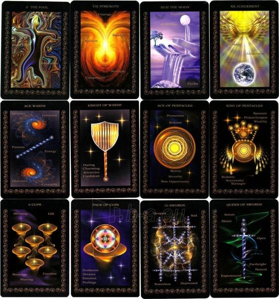 Kortos Taro Inner Realms Tarot Paveikslėlis 5 iš 5 310820217248