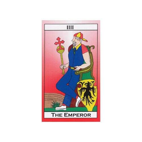 Kortos Taro Major Tom's Tarot of Marseilles Paveikslėlis 9 iš 11 310820217272