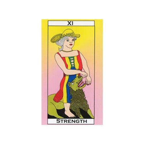 Kortos Taro Major Tom's Tarot of Marseilles Paveikslėlis 8 iš 11 310820217272