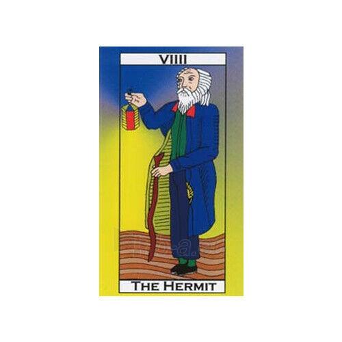 Kortos Taro Major Tom's Tarot of Marseilles Paveikslėlis 7 iš 11 310820217272