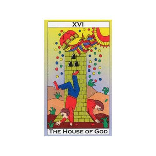Kortos Taro Major Tom's Tarot of Marseilles Paveikslėlis 6 iš 11 310820217272