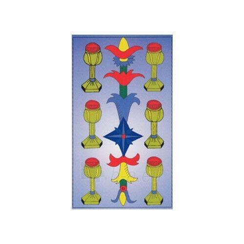 Kortos Taro Major Tom's Tarot of Marseilles Paveikslėlis 3 iš 11 310820217272