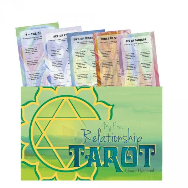 Kortos Taro My First Relationship Tarot Paveikslėlis 1 iš 8 310820217269