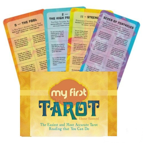 Kortos Taro My First Tarot Paveikslėlis 8 iš 8 310820217239