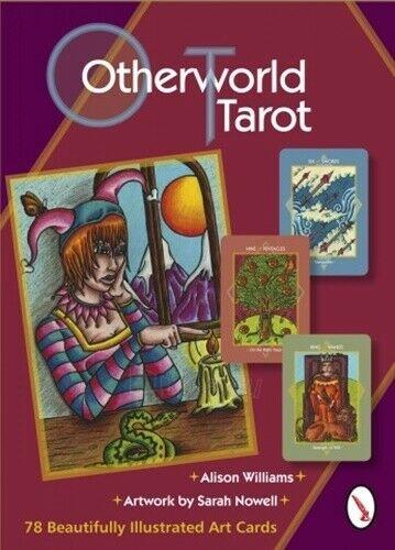 Kortos Taro Otherworld Tarot Paveikslėlis 12 iš 13 310820217261