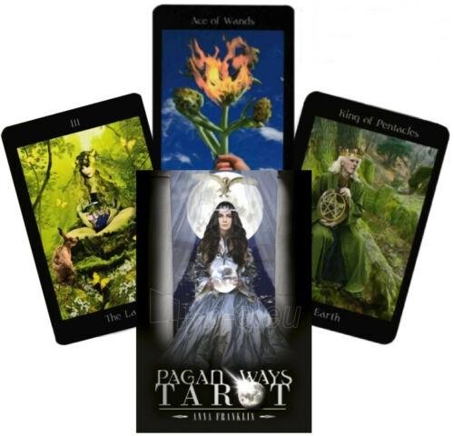 Kortos Taro Pagan Ways Paveikslėlis 1 iš 10 310820217228