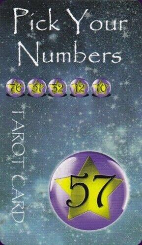 Kortos Taro Pick Your Numbers Paveikslėlis 6 iš 11 310820217242