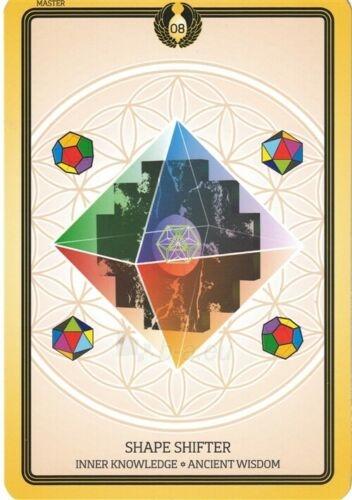 Kortos Taro Sacred Geometry Healing Cards Paveikslėlis 2 iš 7 310820217217