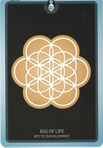 Kortos Taro Sacred Geometry Healing Cards Paveikslėlis 3 iš 7 310820217217