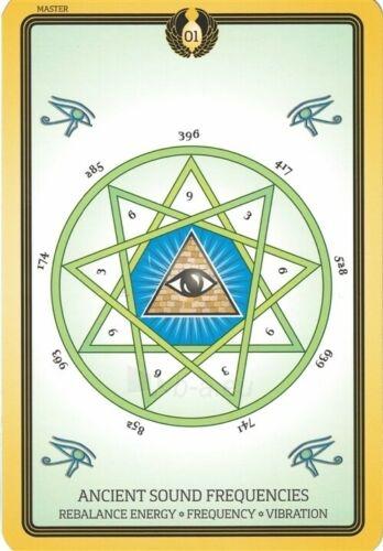 Kortos Taro Sacred Geometry Healing Cards Paveikslėlis 5 iš 7 310820217217