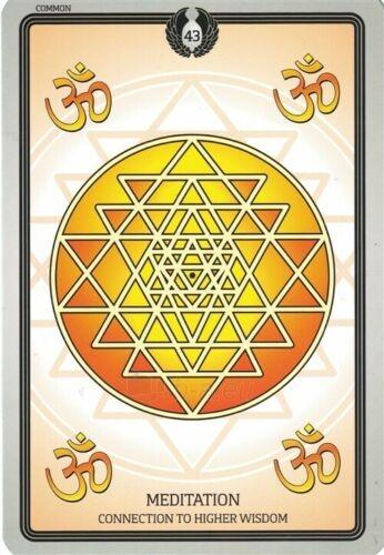 Kortos Taro Sacred Geometry Healing Cards Paveikslėlis 6 iš 7 310820217217