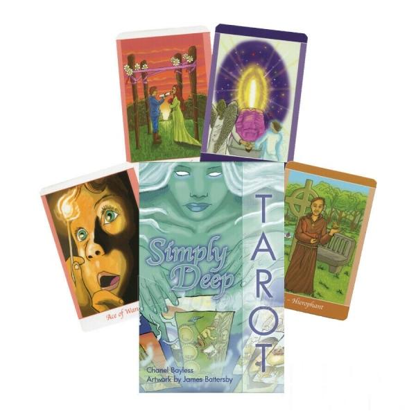 Kortos Taro Simply Deep Tarot Paveikslėlis 5 iš 7 310820217246