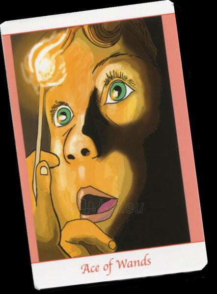 Kortos Taro Simply Deep Tarot Paveikslėlis 7 iš 7 310820217246