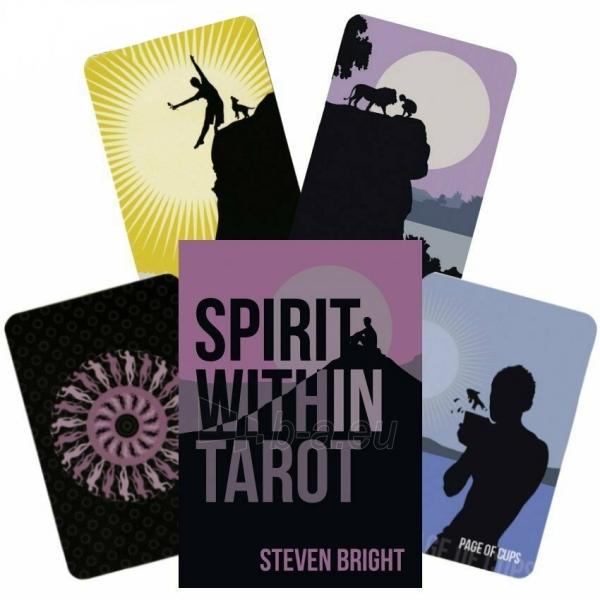 Kortos Taro Spirit Within Tarot Paveikslėlis 1 iš 8 310820217216