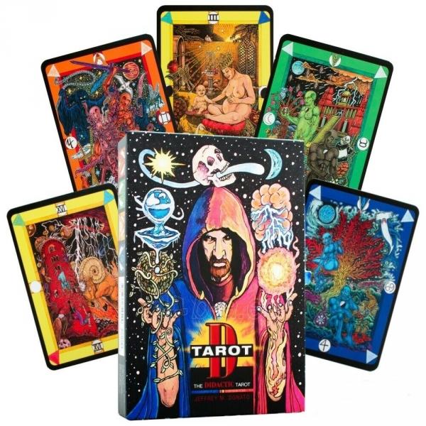 Kortos Taro Tarot D: The Didactic Tarot Paveikslėlis 1 iš 10 310820217235