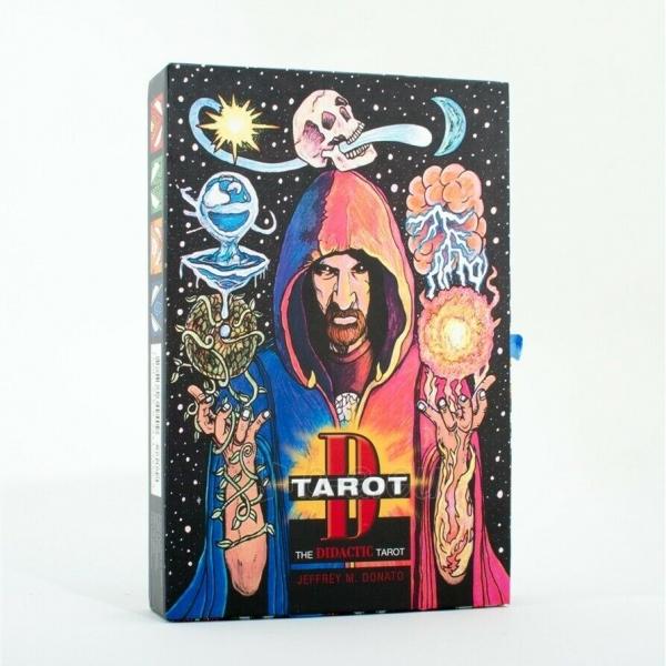 Kortos Taro Tarot D: The Didactic Tarot Paveikslėlis 9 iš 10 310820217235