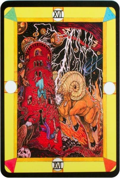 Kortos Taro Tarot D: The Didactic Tarot Paveikslėlis 8 iš 10 310820217235