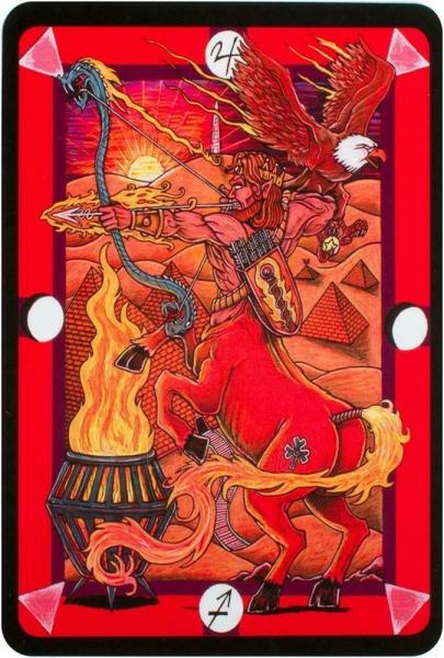 Kortos Taro Tarot D: The Didactic Tarot Paveikslėlis 5 iš 10 310820217235