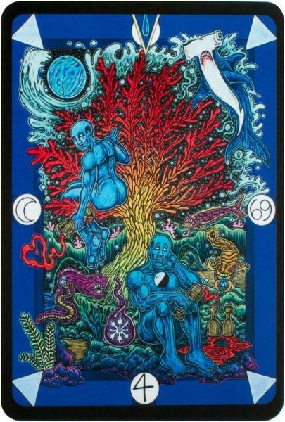 Kortos Taro Tarot D: The Didactic Tarot Paveikslėlis 4 iš 10 310820217235