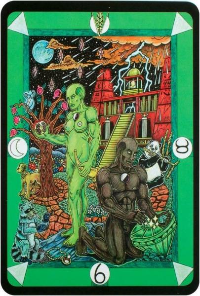 Kortos Taro Tarot D: The Didactic Tarot Paveikslėlis 3 iš 10 310820217235