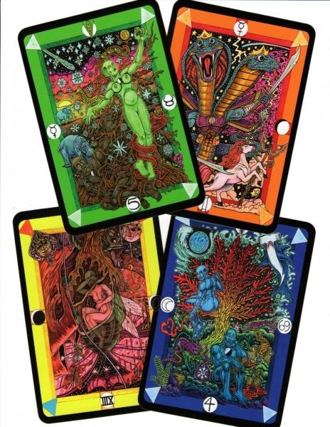 Kortos Taro Tarot D: The Didactic Tarot Paveikslėlis 10 iš 10 310820217235