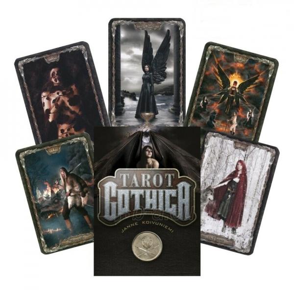 Kortos Taro Tarot Gothica Paveikslėlis 1 iš 8 310820217243