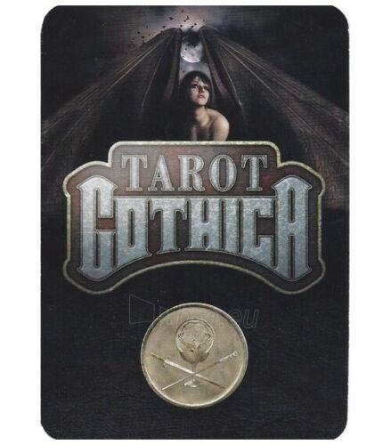 Kortos Taro Tarot Gothica Paveikslėlis 5 iš 8 310820217243