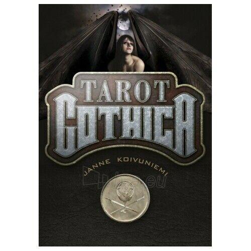 Kortos Taro Tarot Gothica Paveikslėlis 6 iš 8 310820217243