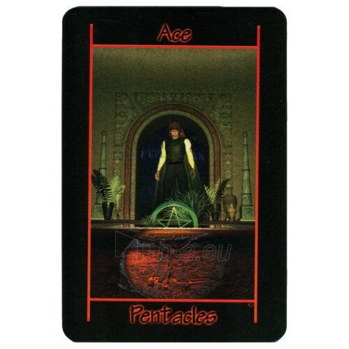 Kortos Taro Tarot of the Night Paveikslėlis 3 iš 8 310820217255