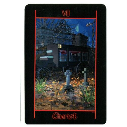 Kortos Taro Tarot of the Night Paveikslėlis 5 iš 8 310820217255