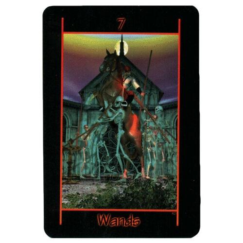 Kortos Taro Tarot of the Night Paveikslėlis 6 iš 8 310820217255