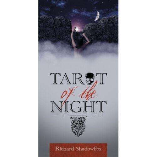 Kortos Taro Tarot of the Night Paveikslėlis 7 iš 8 310820217255