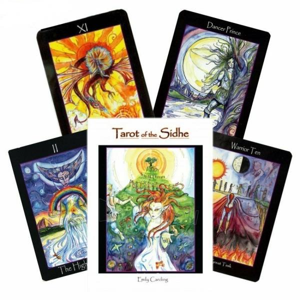 Kortos Taro Tarot of the Sidhe Paveikslėlis 7 iš 9 310820217218