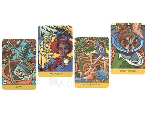 Kortos Taro The Cook's Tarot Paveikslėlis 6 iš 9 310820217240