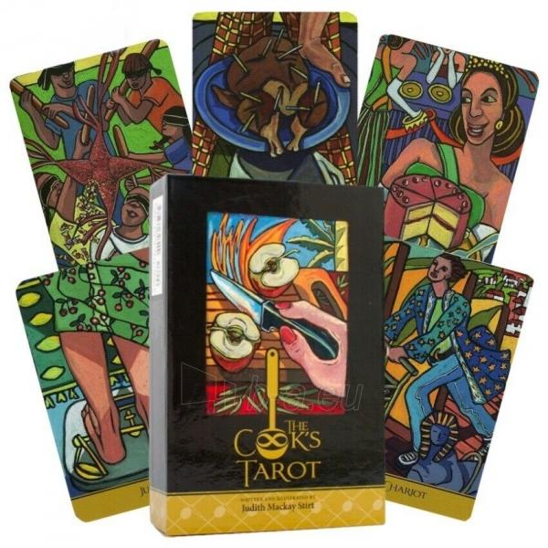 Kortos Taro The Cook's Tarot Paveikslėlis 9 iš 9 310820217240