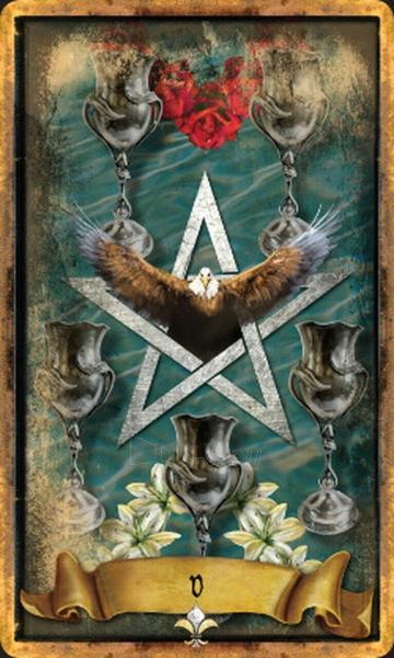 Kortos Taro The Illuminati Tarot Paveikslėlis 3 iš 10 310820217229