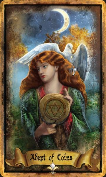 Kortos Taro The Illuminati Tarot Paveikslėlis 2 iš 10 310820217229
