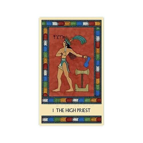 Kortos Taro The Minoan Tarot Paveikslėlis 3 iš 9 310820217247