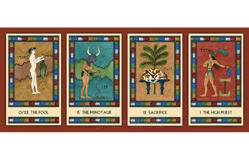 Kortos Taro The Minoan Tarot Paveikslėlis 5 iš 9 310820217247