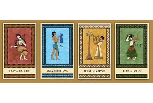 Kortos Taro The Minoan Tarot Paveikslėlis 7 iš 9 310820217247