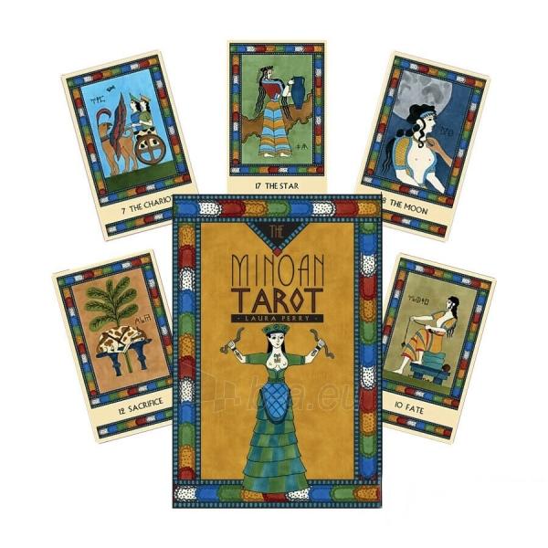 Kortos Taro The Minoan Tarot Paveikslėlis 9 iš 9 310820217247
