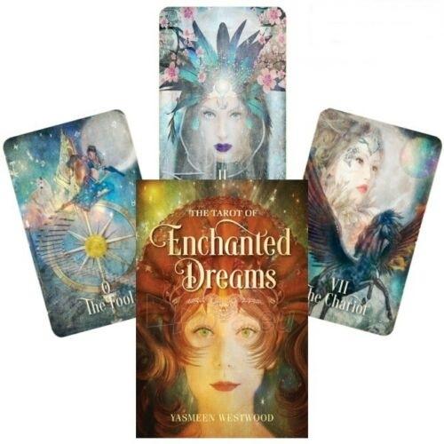 Kortos Taro The Tarot of Enchanted Dreams Paveikslėlis 1 iš 6 310820217214