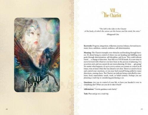 Kortos Taro The Tarot of Enchanted Dreams Paveikslėlis 5 iš 6 310820217214