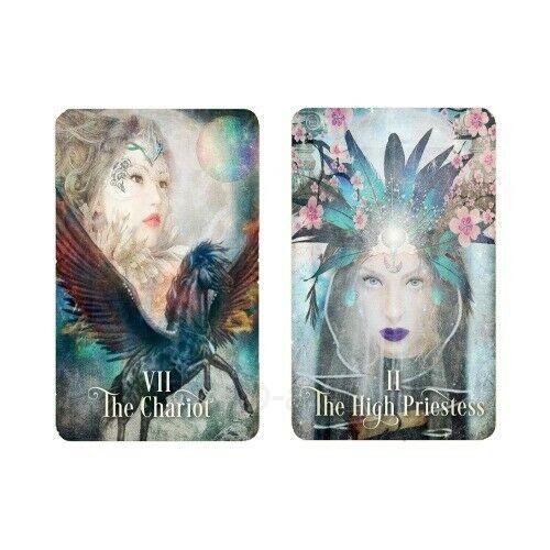 Kortos Taro The Tarot of Enchanted Dreams Paveikslėlis 6 iš 6 310820217214