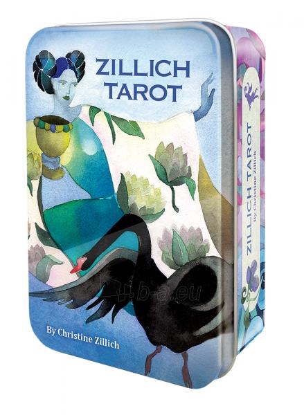 Kortos Taro Zillich Tarot metalinėje dėžutėje Paveikslėlis 11 iš 12 310820151814