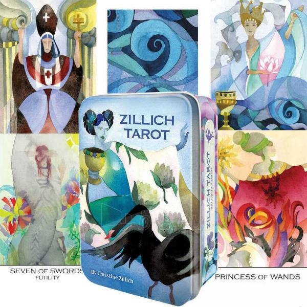 Kortos Taro Zillich Tarot metalinėje dėžutėje Paveikslėlis 2 iš 12 310820151814