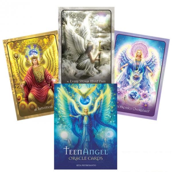 Kortos TeenAngel Oracle Cards taro Paveikslėlis 2 iš 6 310820160482