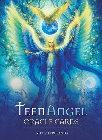 Kortos TeenAngel Oracle Cards taro Paveikslėlis 3 iš 6 310820160482