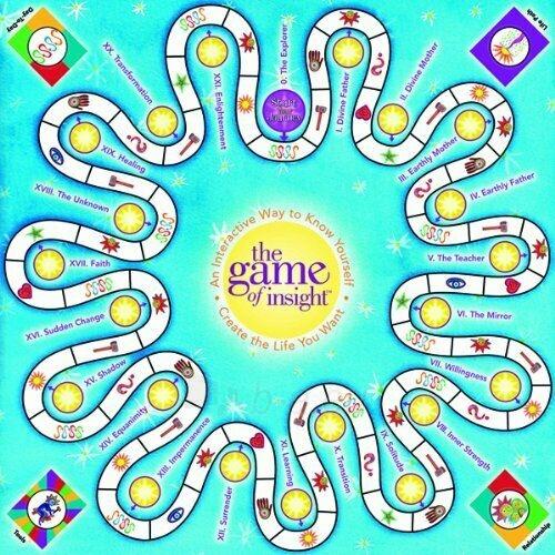 Kortos The Game of Insight stalo žaidimas Paveikslėlis 2 iš 4 310820217293
