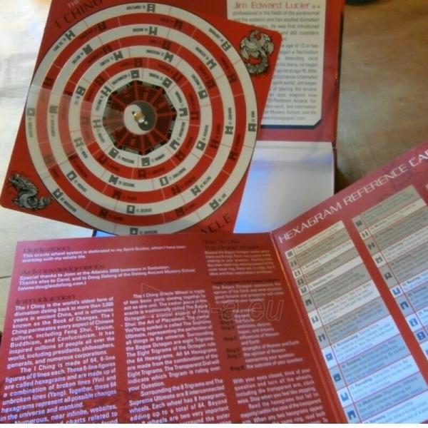Kortos The I Ching Oracle Wheel būrimo lenta Paveikslėlis 2 iš 3 310820217284